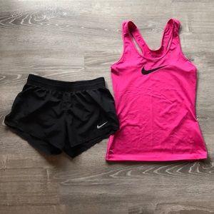 Nike shorts and tank top bundle!